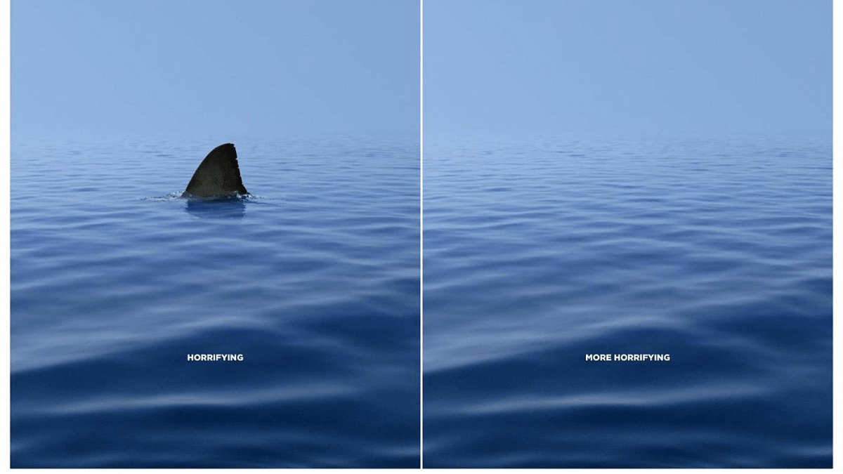 WWF print advertising campaign to save sharks